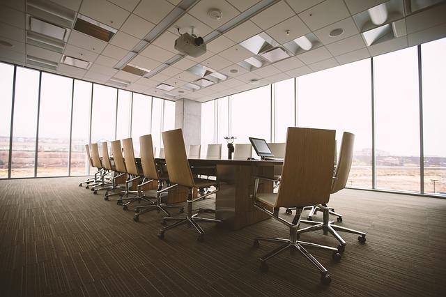 sala de reunioes climatizada
